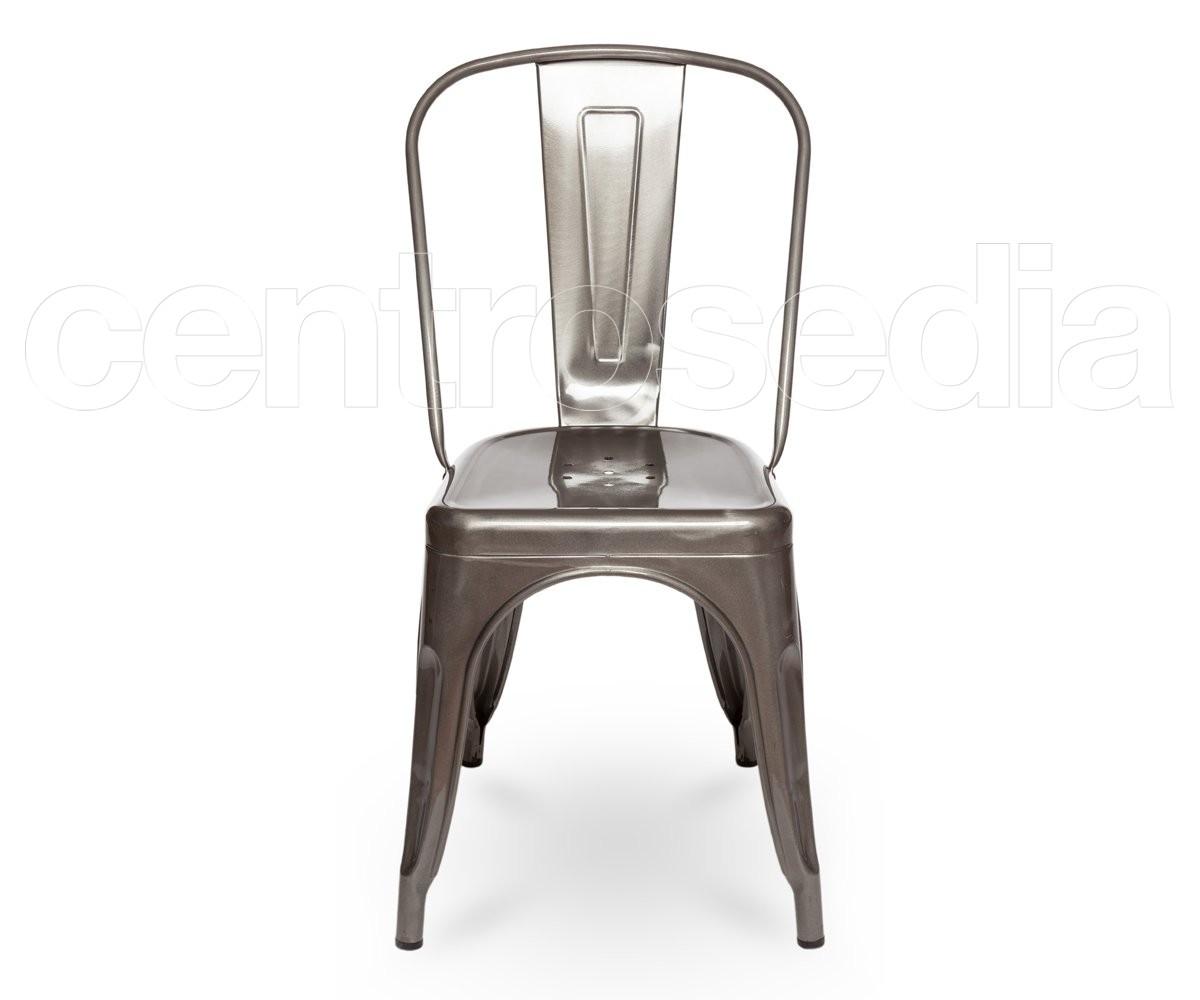 Sedie Di Plastica Trasparenti : Virginia sedia metallo trasparente sedie alluminio metallo