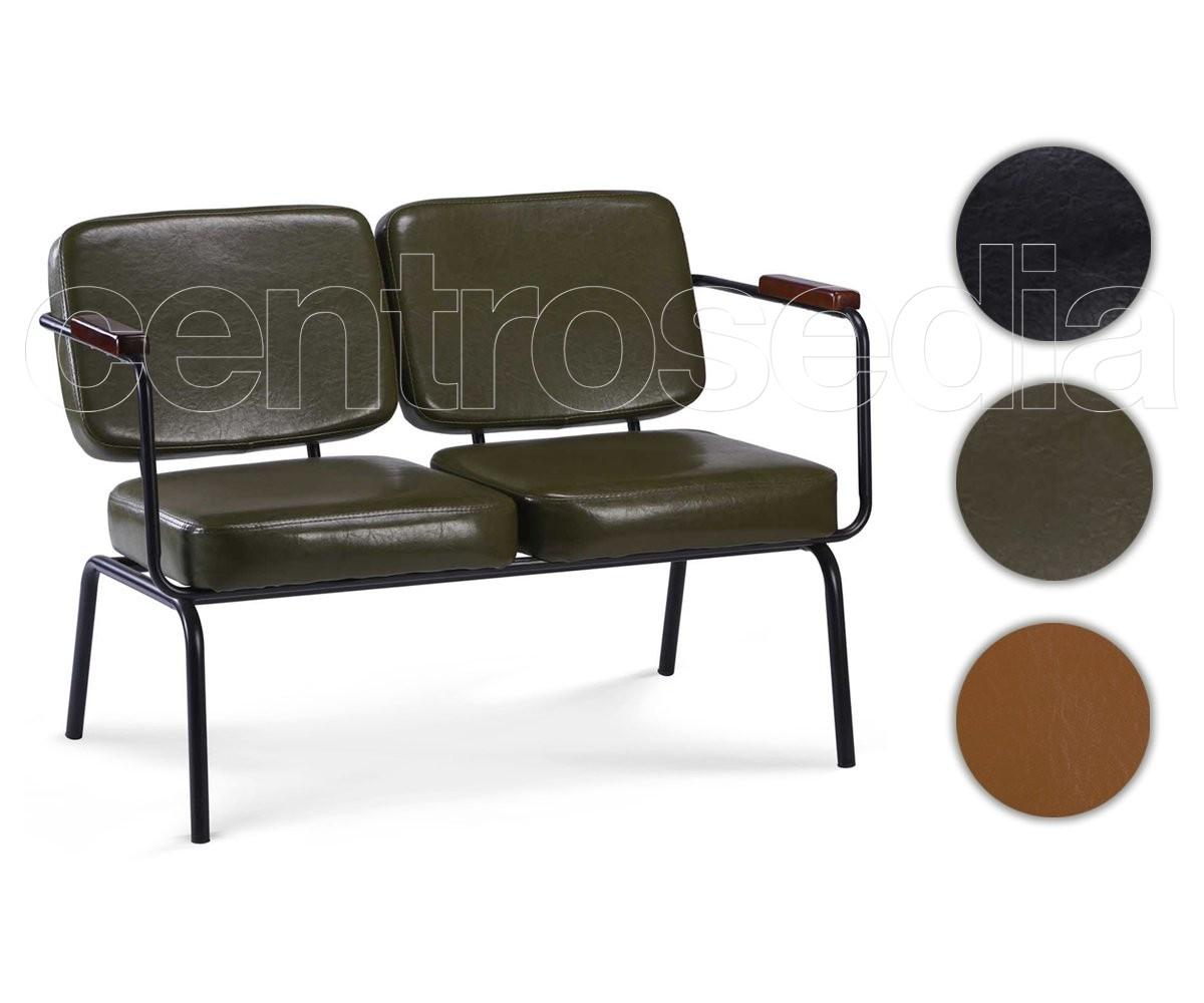 Twist divano vintage imbottito pu poltrone e divani vintage