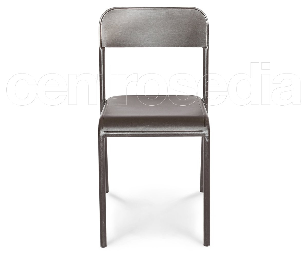 Industry sedia vintage scuola comunità sedie aule laboratori mense