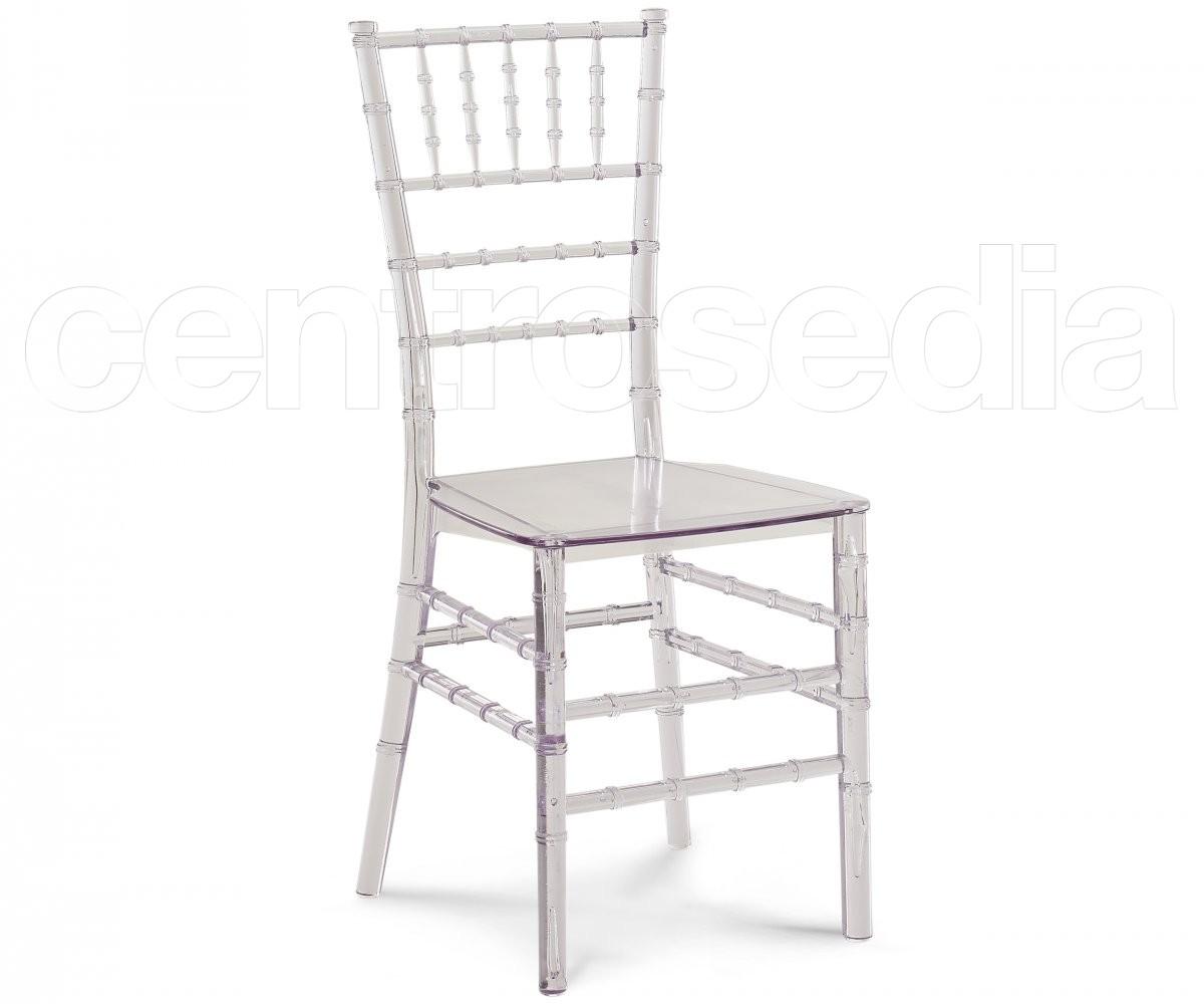 Chiavarina sedia policarbonato trasparente sedie - Sedie policarbonato ...