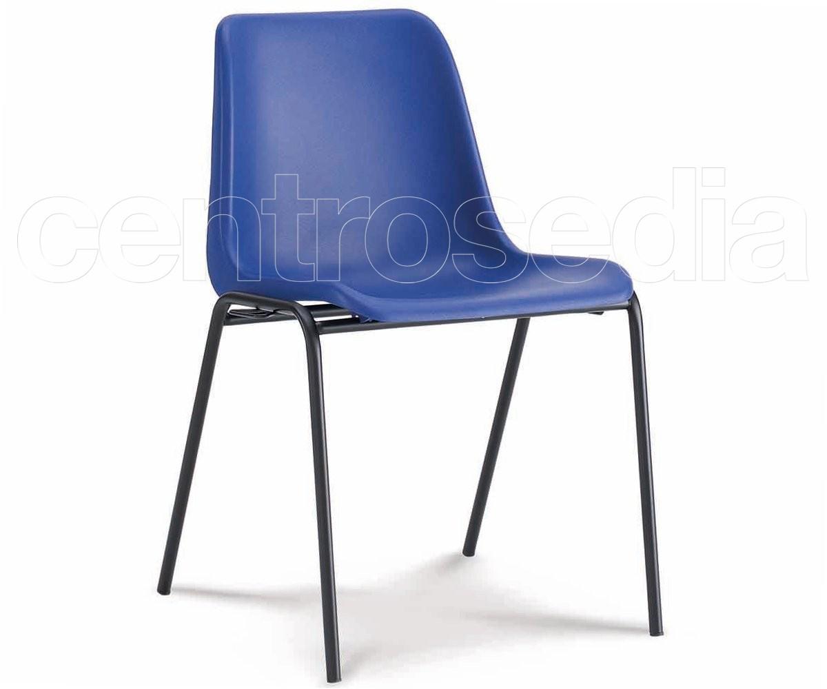 Sedute In Plastica Per Sedie.Mono Sedia Plastica Sedie Metallo Plastica