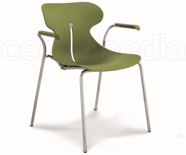 Dome poltroncina plastica sedie design - Sedie design plastica ...