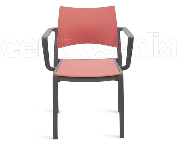 Mita poltroncina plastica sedie design for Sedie design plastica