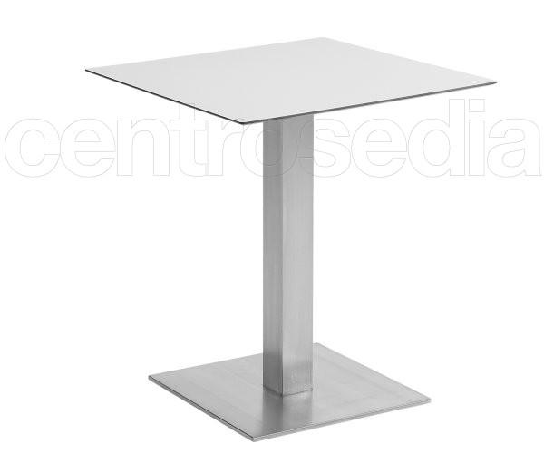Munich 82 tavolo acciaio inox tavoli alluminio metallo