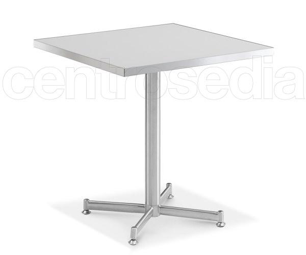 Lipsia tavolo acciaio inox tavoli alluminio metallo