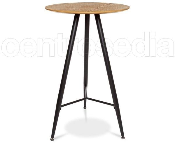 Tavoli Alti Legno : Clark tavolo alto metallo legno tavoli alti vintage e industriali