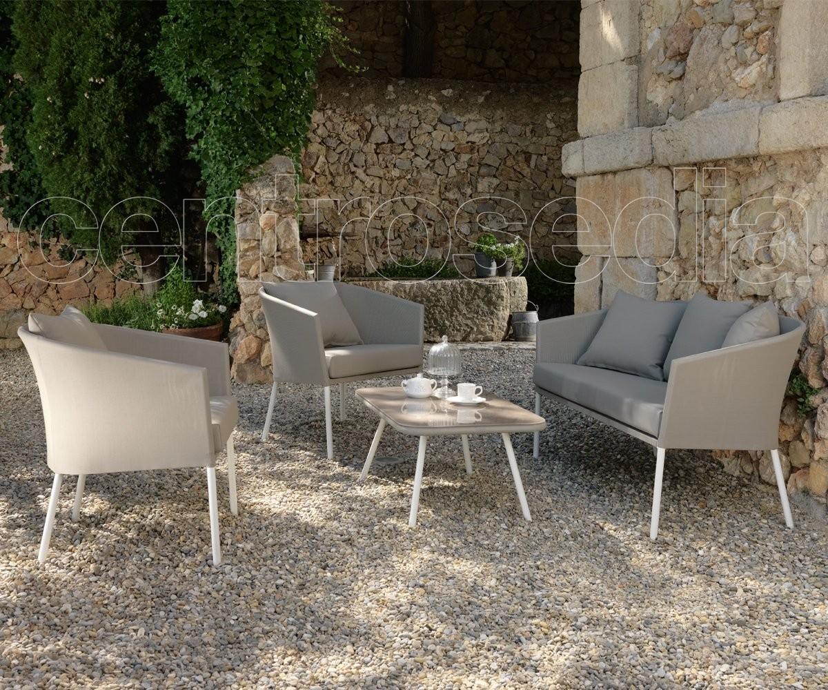 Miro set alluminio textilene set arredo da giardino for Arredo giardino alluminio