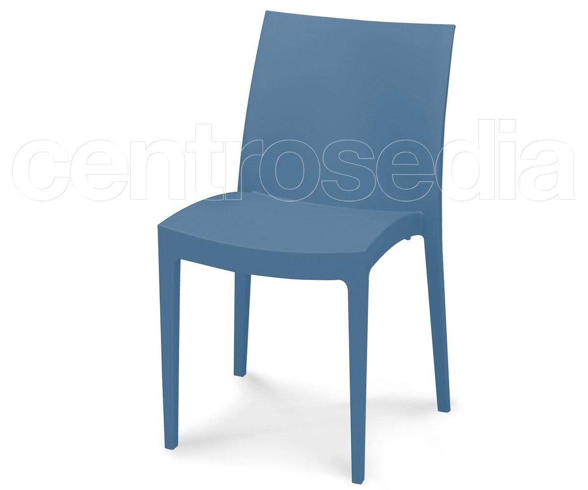 Mira sedia polipropilene sedie plastica polipropilene for Sedia polipropilene