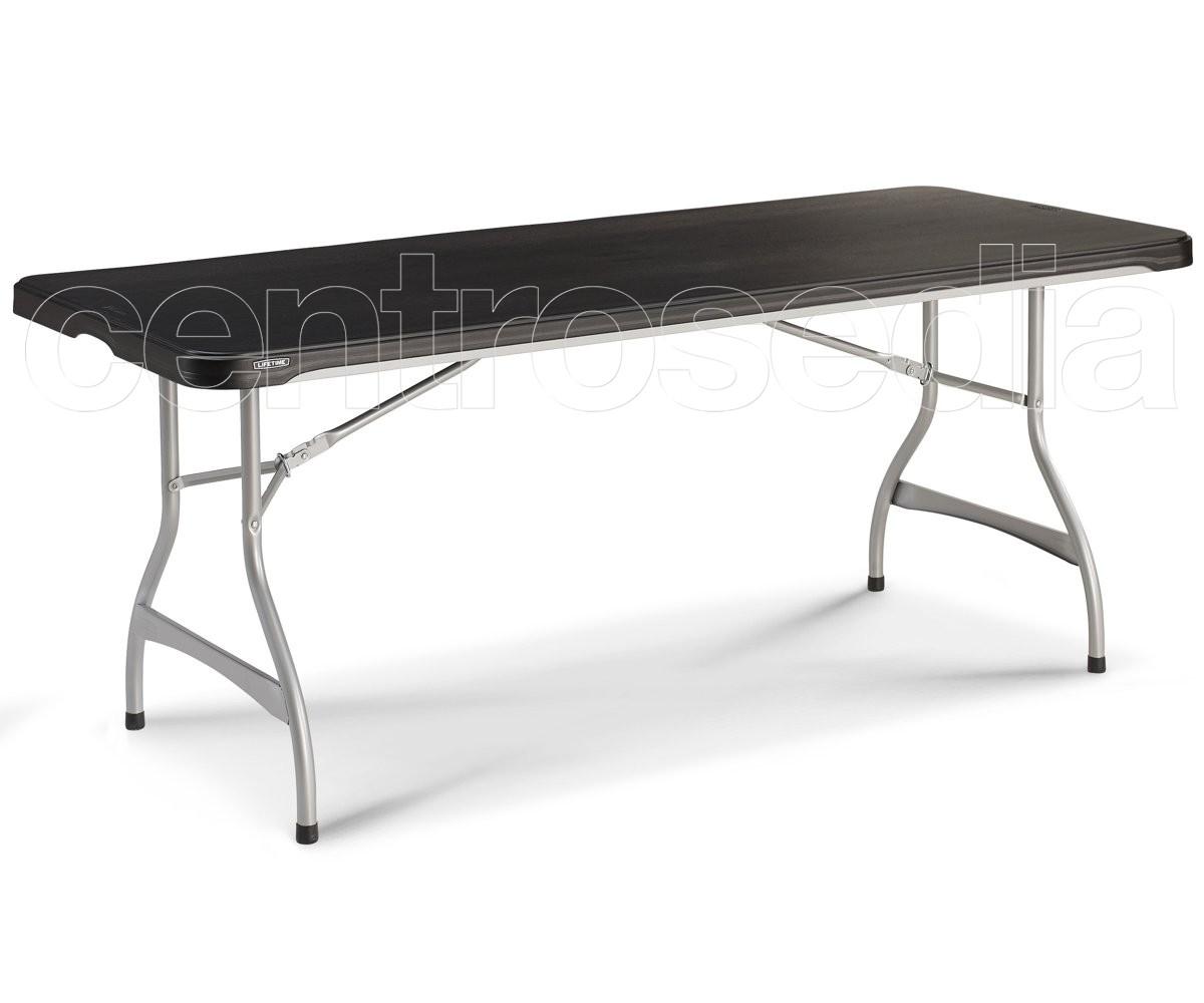 Lifetime 80350 tavolo pieghevole 183x76cm tavoli for Tavolo pieghevole