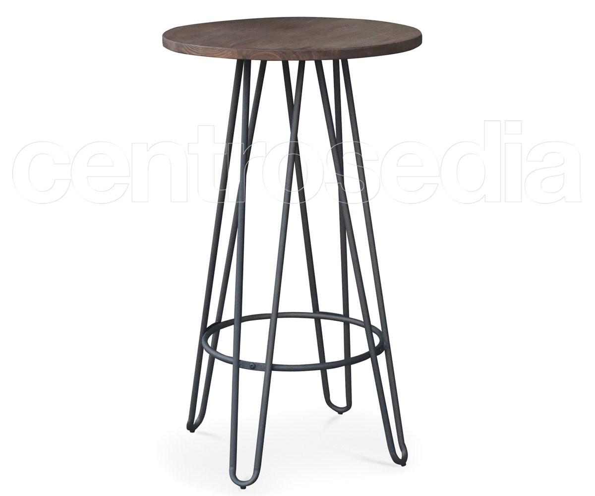Tavoli Alti Per Esterno.Sierra Tavolo Alto Metallo Old Style Tavoli Alti Cocktail