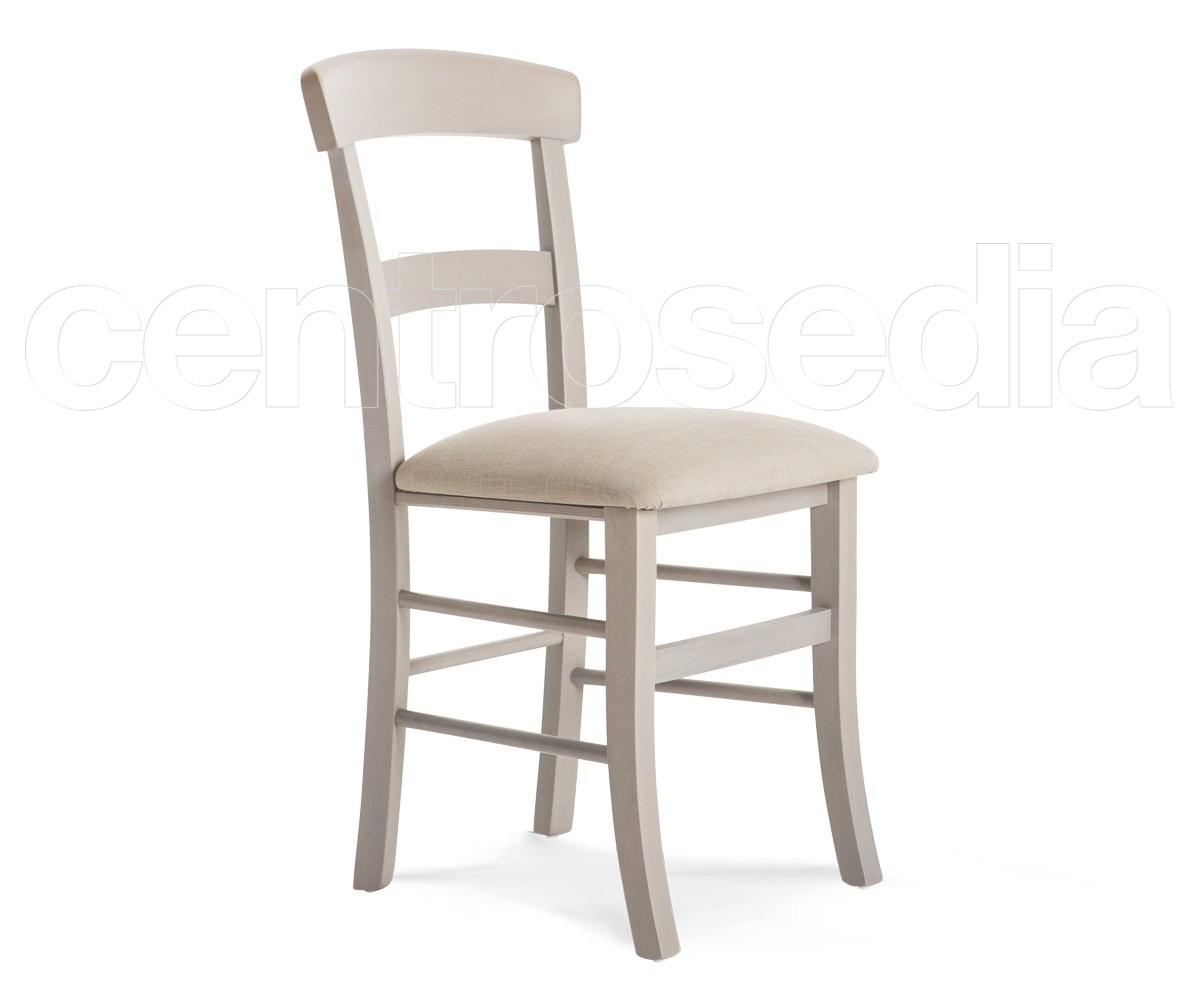 Sedute Per Sedie Legno.Roma Sedia Legno Seduta Imbottita Sedie Legno Classico E
