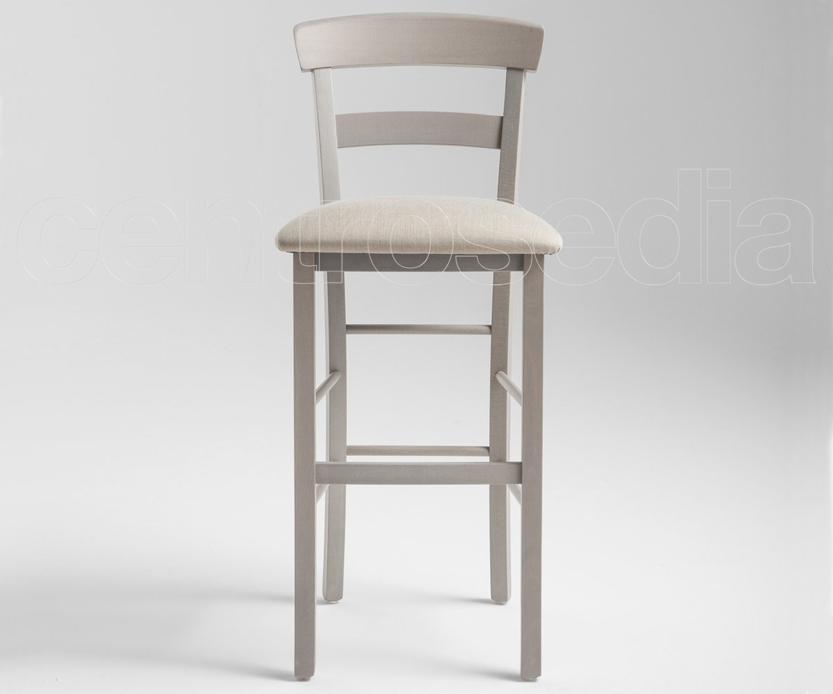 Vendita Sgabelli Da Bar In Legno : Roma sgabello legno seduta imbottita sgabelli legno classico e