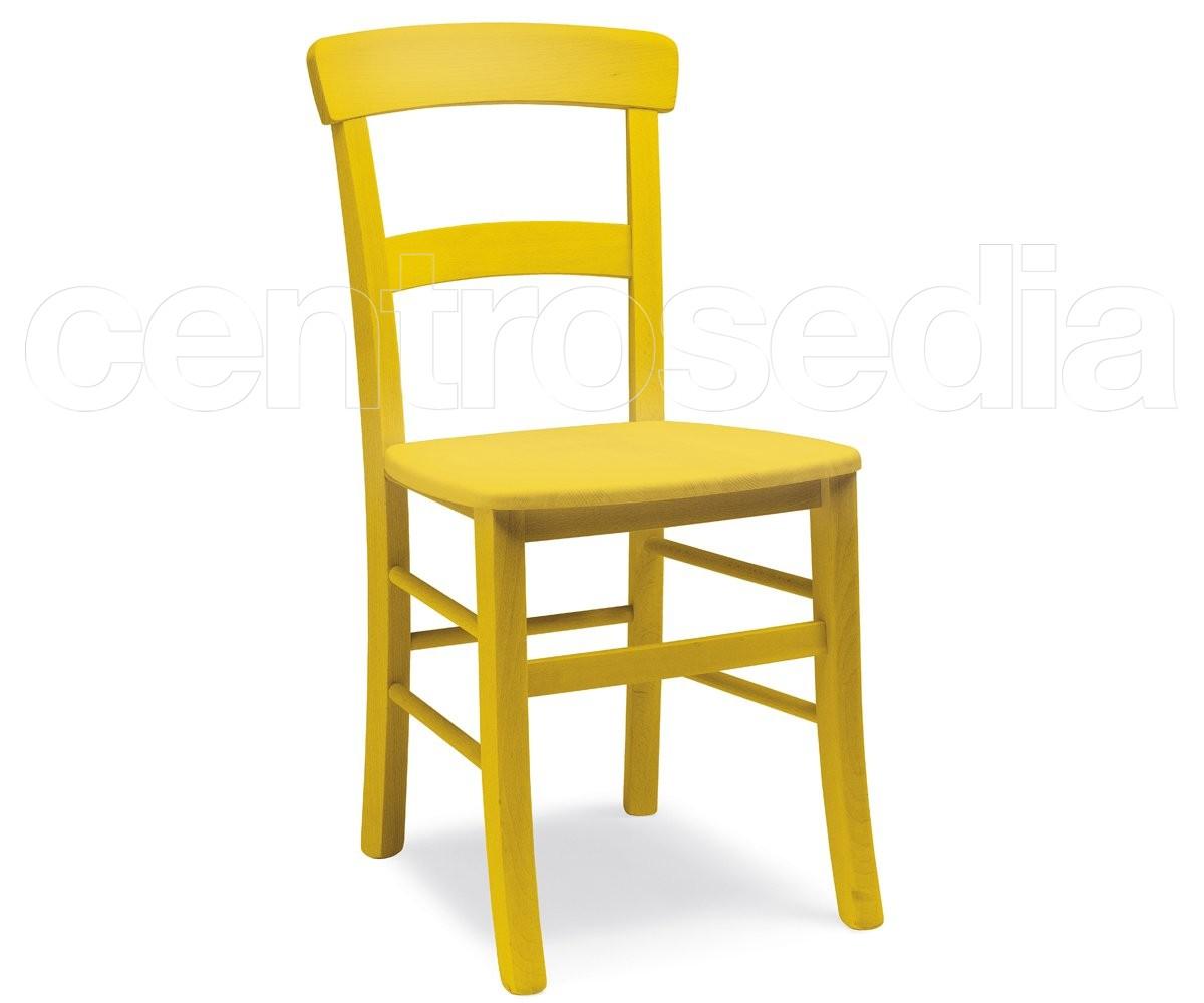 Roma sedia legno seduta legno sedie legno classico e rustico for Sedie acciaio e legno