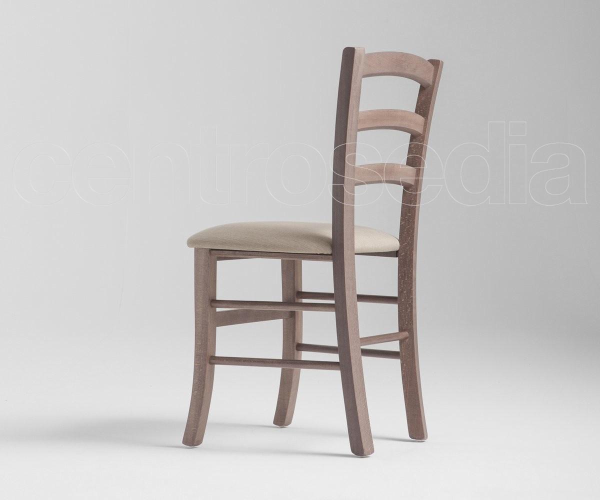 Sedie A Sdraio Imbottite : Anita sedia legno seduta imbottita sedie legno classico e rustico