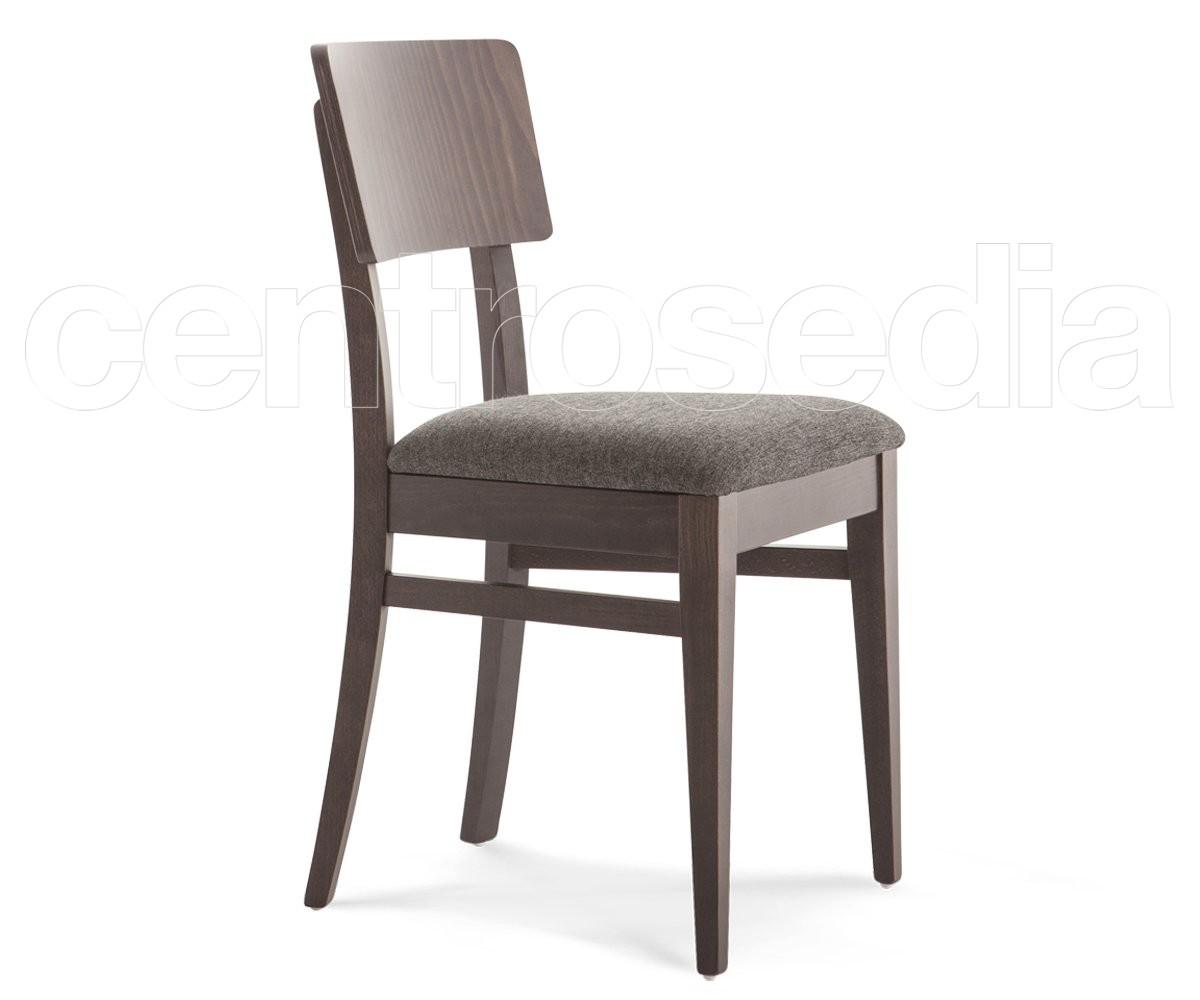 Sedia A Sdraio Tessuto : Sofia sedia legno seduta imbottita sedie legno moderno