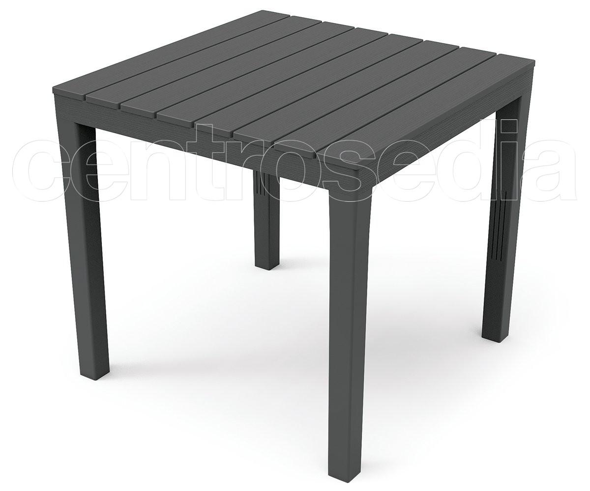 bali tavolo polipropilene 80x80 cm tavoli plastica. Black Bedroom Furniture Sets. Home Design Ideas
