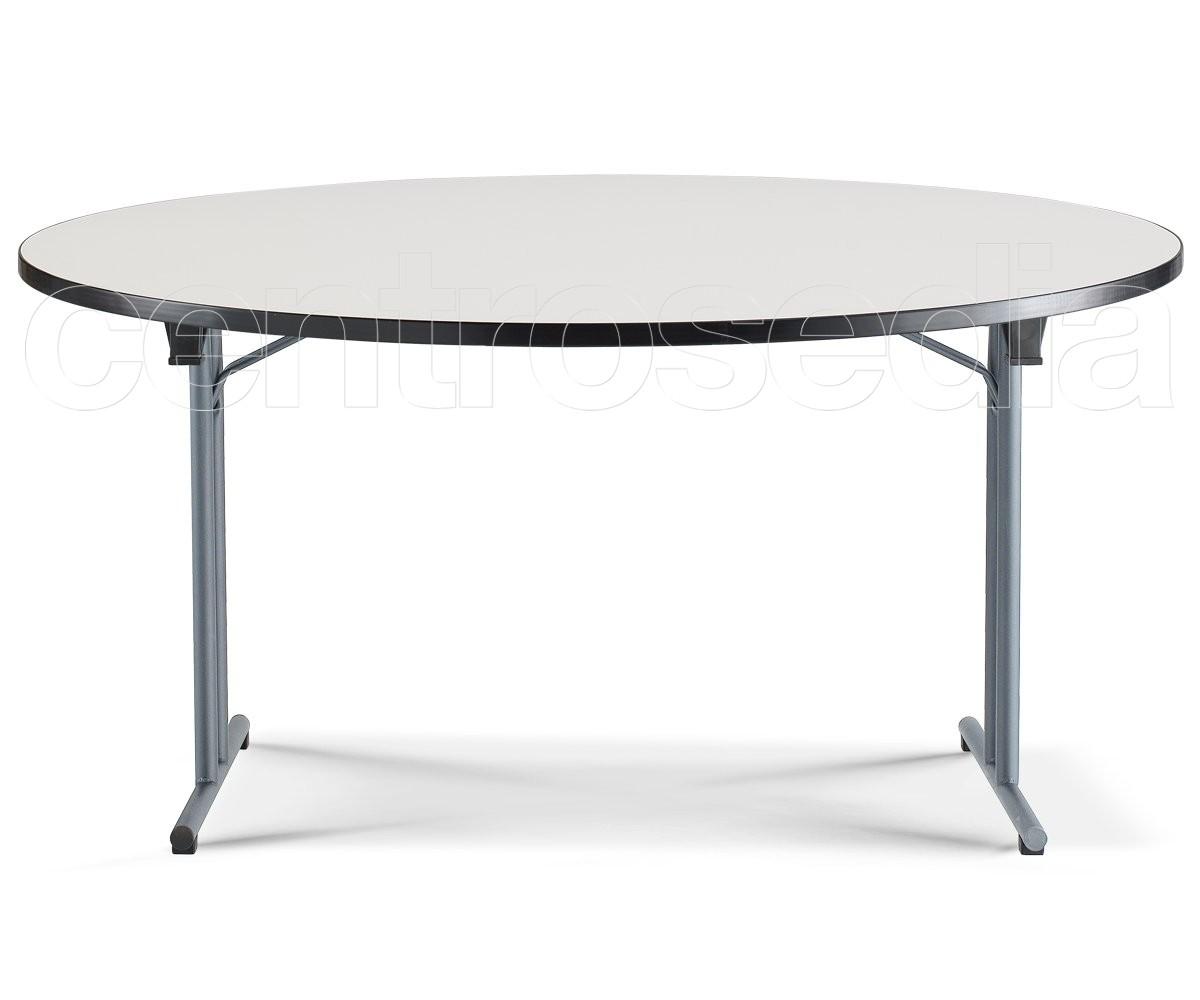 fold tavolo pieghevole rotondo tavoli pieghevoli o