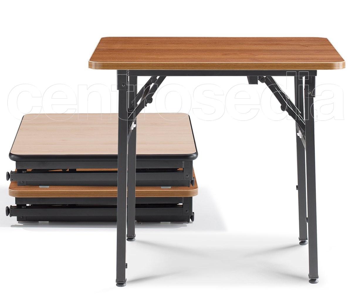Gambe Metalliche Pieghevoli Per Tavoli.Usa Tavolo Pieghevole Quadrato Tavoli Pieghevoli O Richiudibili