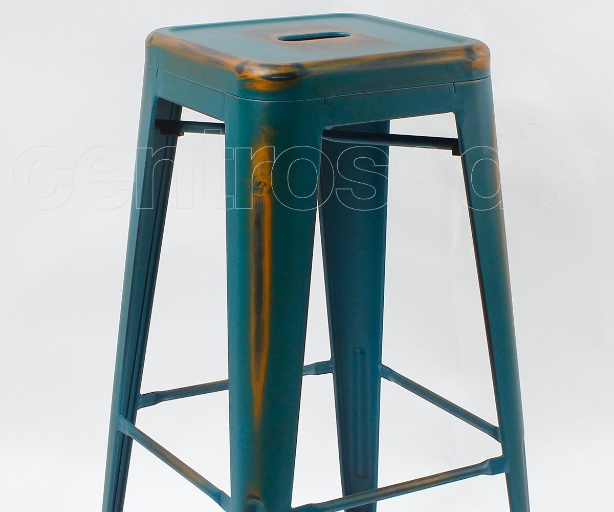 Castore sgabello alto metallo vintage retro sgabelli vintage e