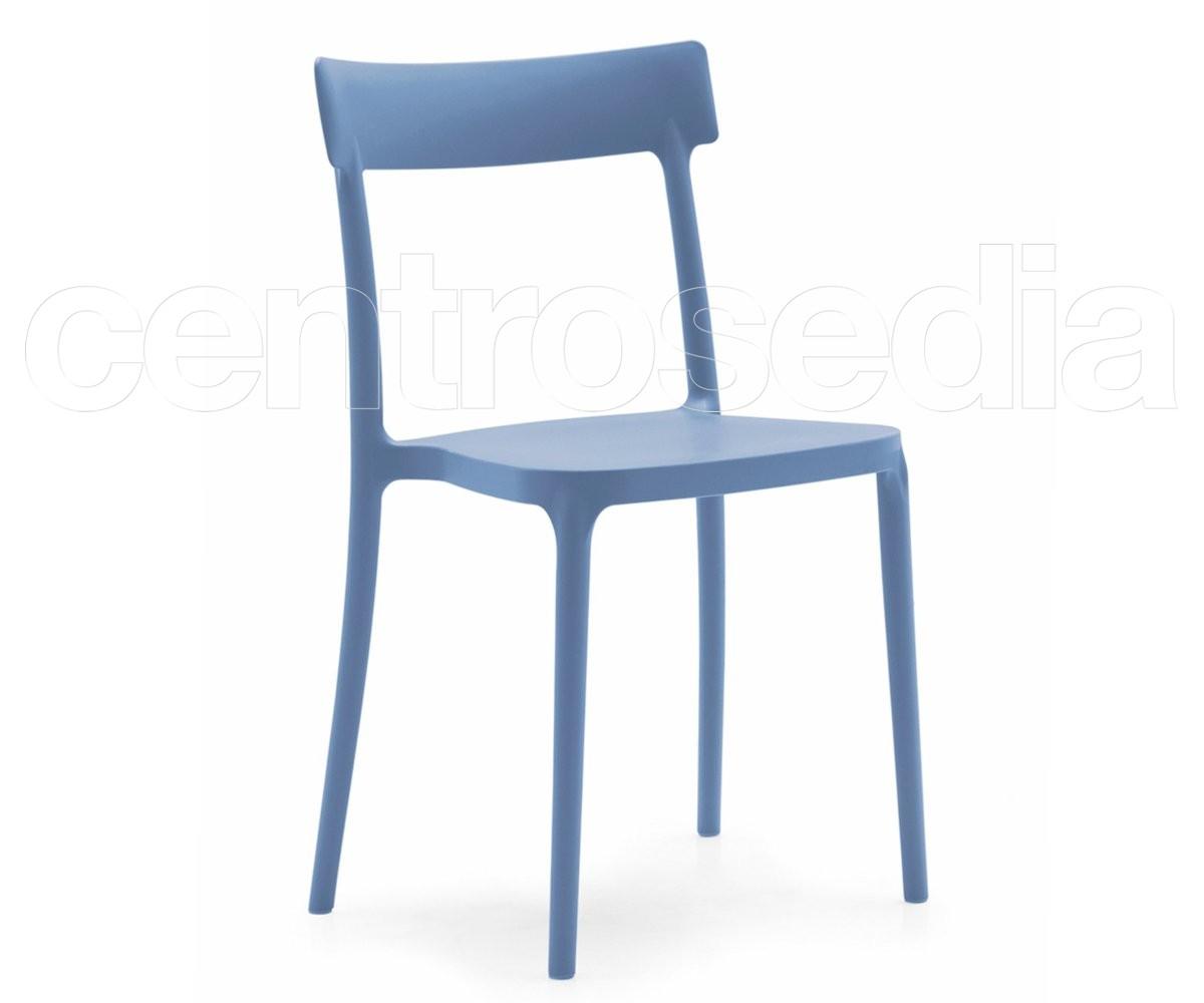 Sedie In Polipropilene Da Giardino.Argo Sedia Polipropilene Calligaris Sedie Design