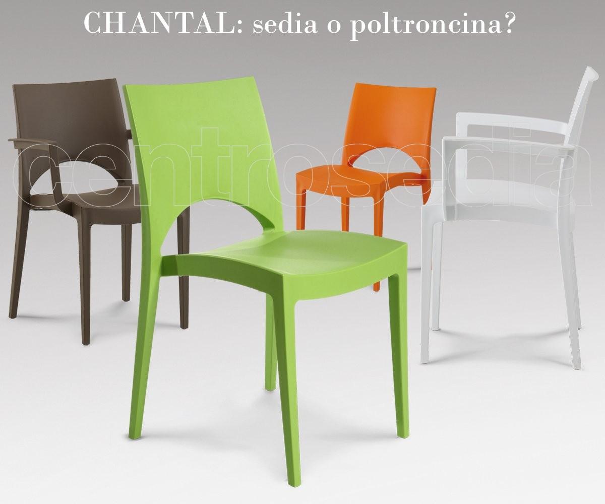 Sedia Ufficio Verde Mela : Chantal sedia polipropilene sedie plastica polipropilene