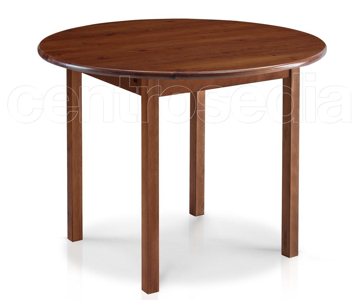 Risto tavolo legno rotondo tavoli legno - Tavolo rotondo in legno ...