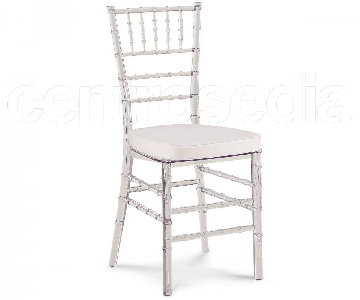 Chiavarina sedia policarbonato trasparente sedie for Sedie in policarbonato trasparente