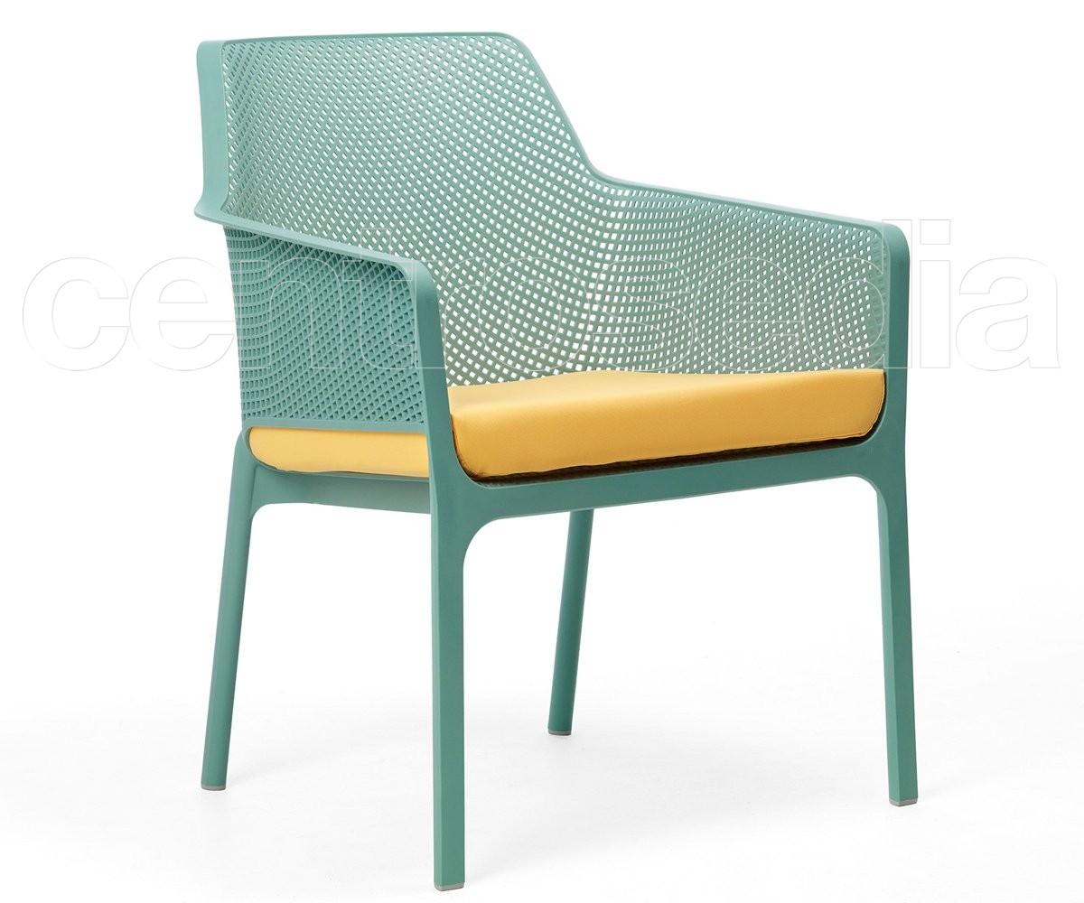 Net relax poltrona polipropilene sedie plastica polipropilene for Sedie a poltrona