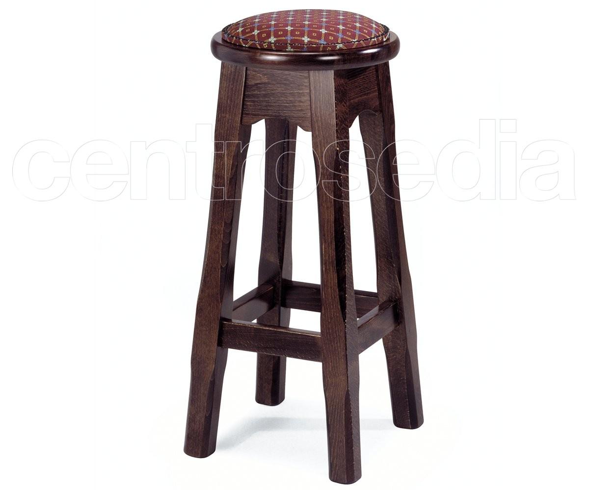 Jack sgabello alto legno old america sgabelli bar ristoranti
