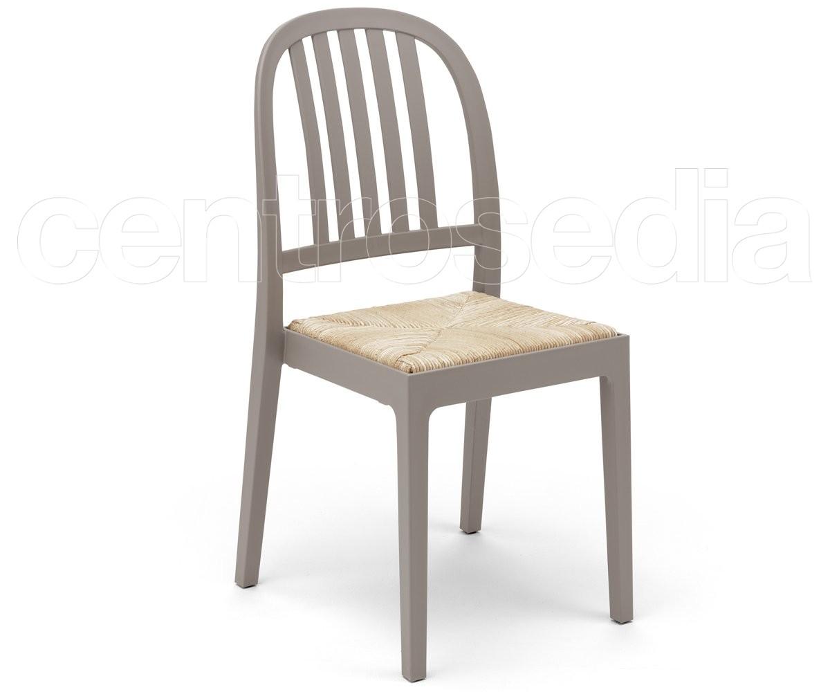 Emilia sedia polipropilene sedie plastica polipropilene for Sedia polipropilene