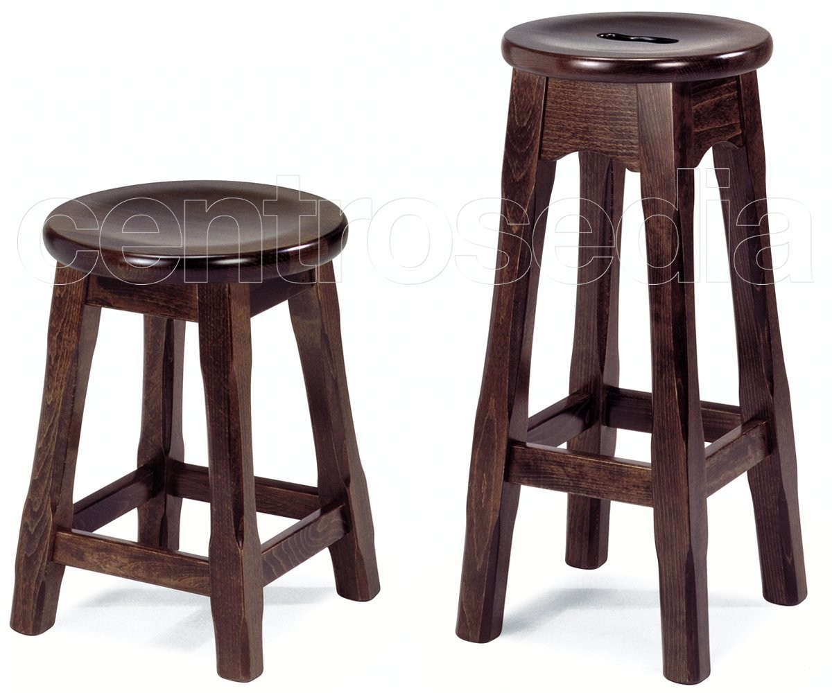 Jack sgabello basso legno old america sgabelli legno classico e