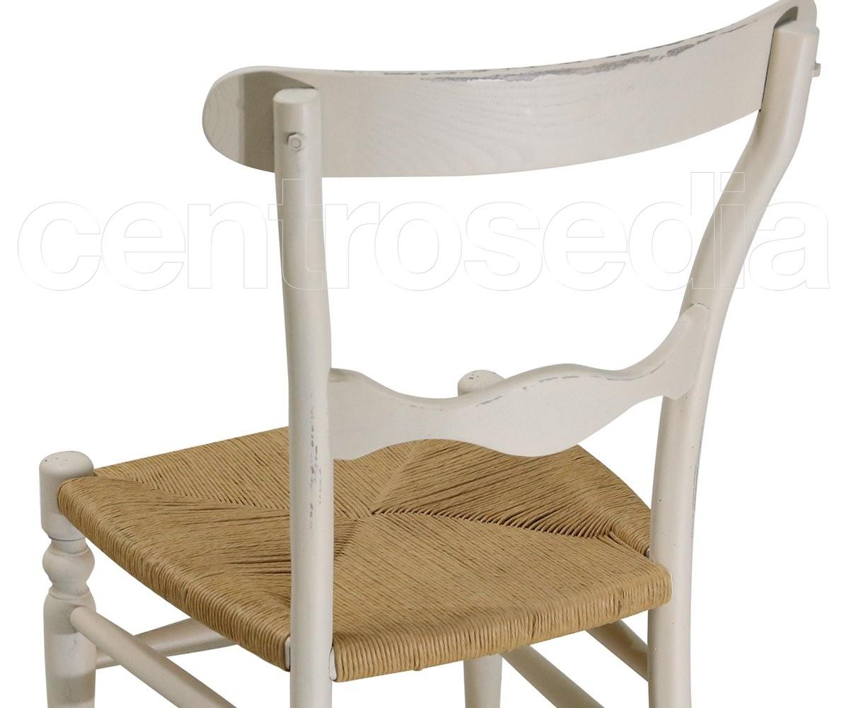 Campanina sedia legno seduta paglia sedie vintage legno