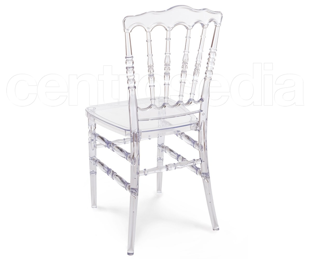 Napoleon sedia policarbonato trasparente sedie policarbonato