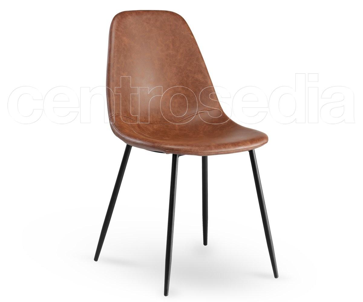 Micky sedia attesa vintage metallo imbottito sedie attesa