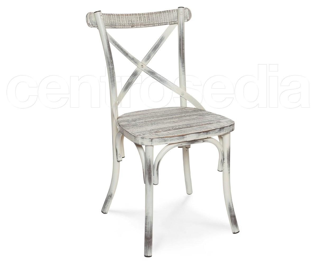 Sedie Di Metallo Vintage : Cross sedia metallo vintage retro seduta legno sedie vintage