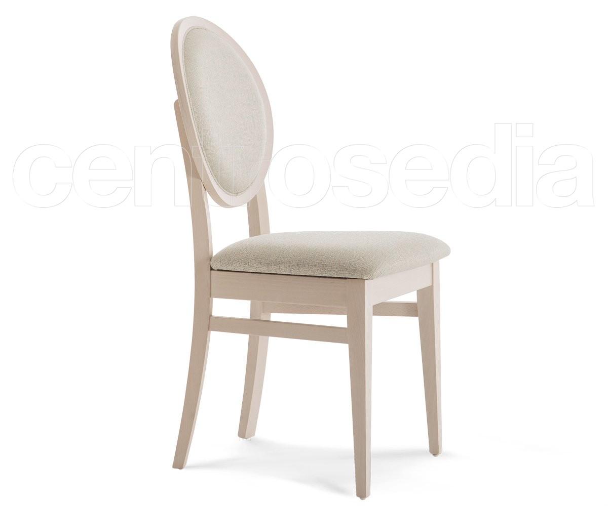 Sedie In Legno Prezzi.Cleo Sedia Legno Imbottito Sedie Imbottite