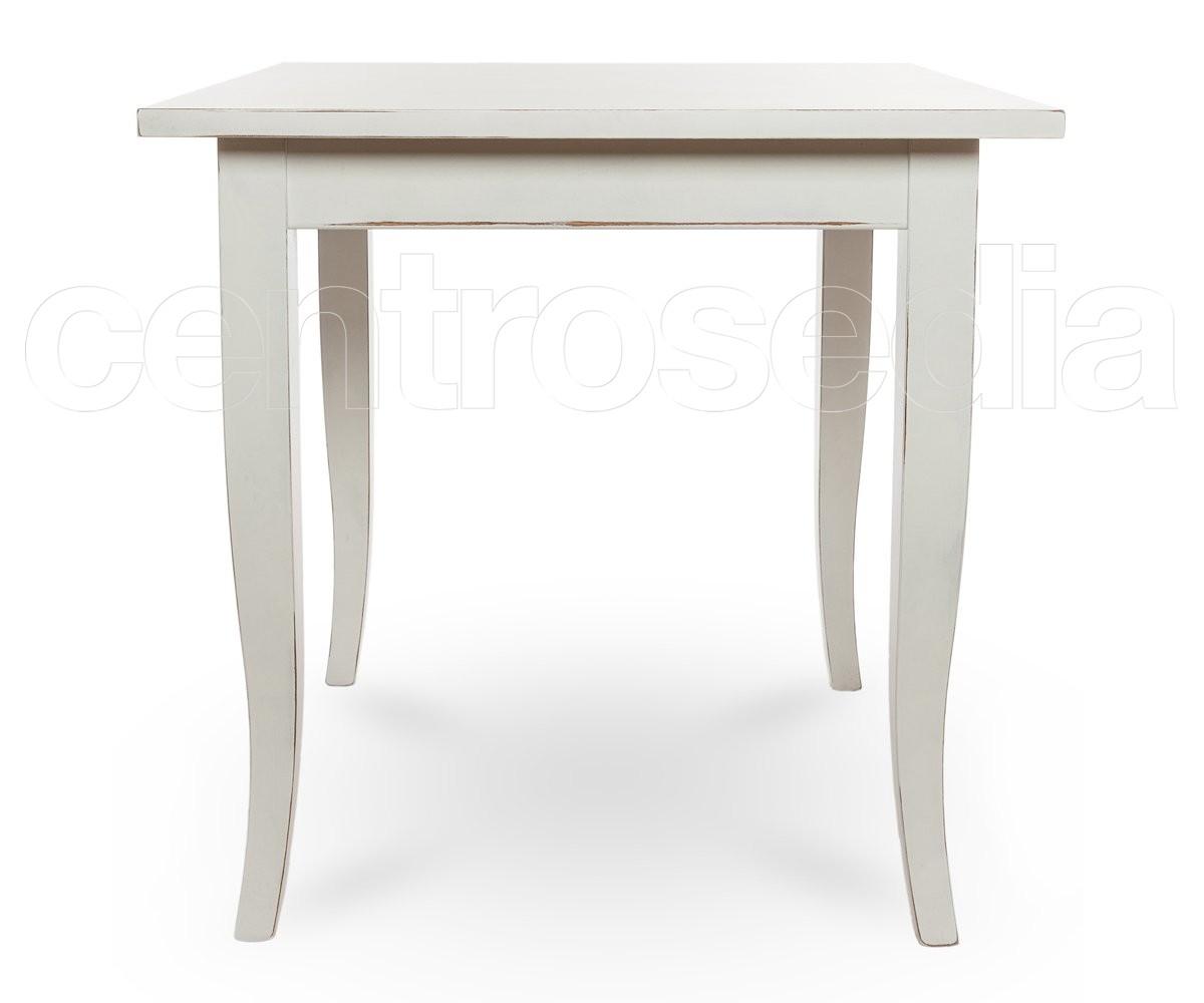 Spencer tavolo legno quadrato gambe a sciabola tavoli for Tavolo legno quadrato