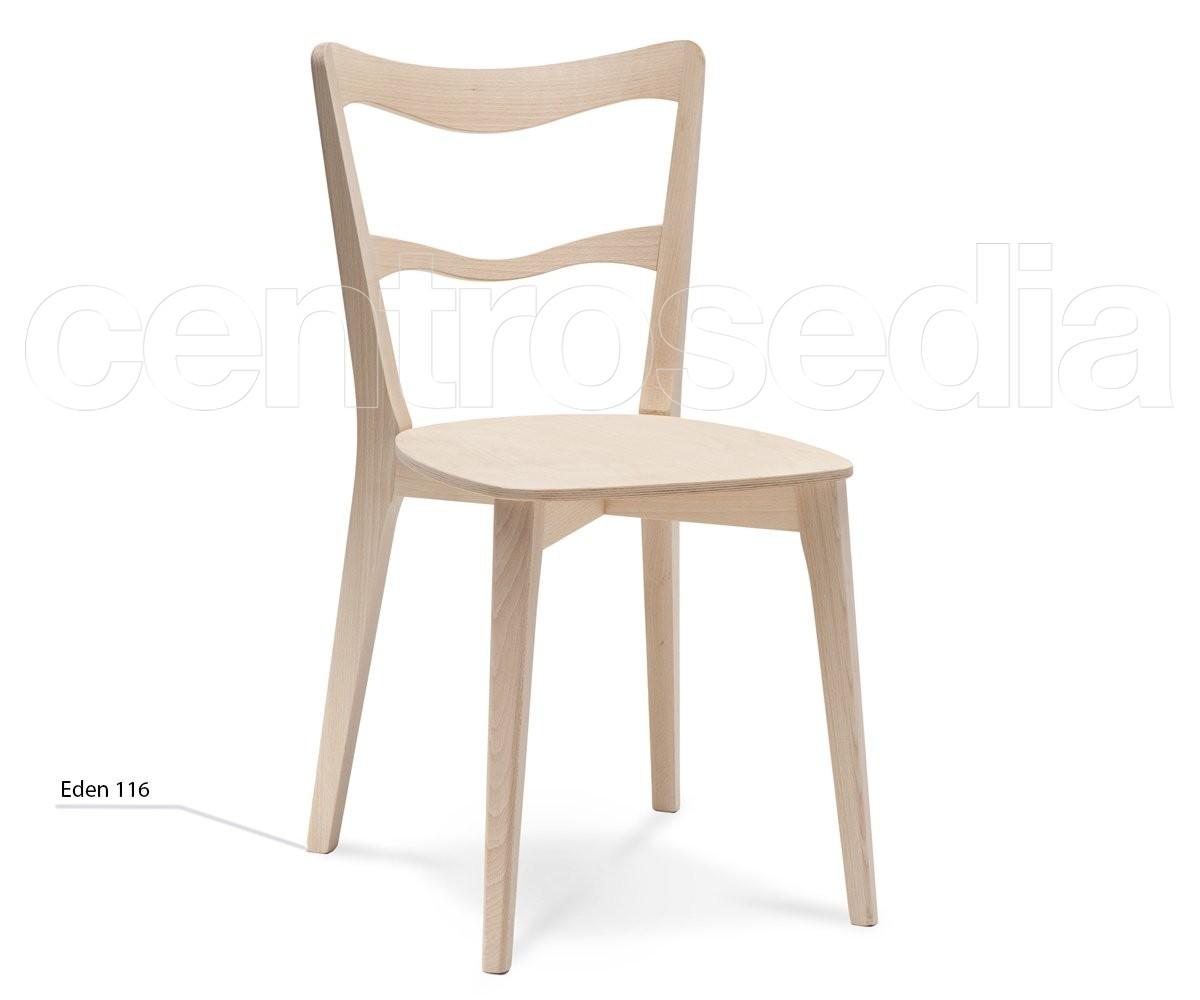 Eden sedia legno seduta legno sedie design legno - Sedia legno design ...