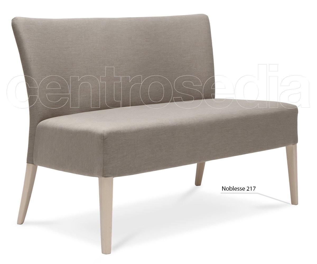 Divanetto Imbottito Design.Noblesse Divanetto Legno Imbottito Poltrone E Divani Design
