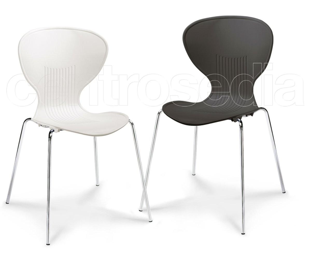 Brio sedia plastica sedie metallo plastica
