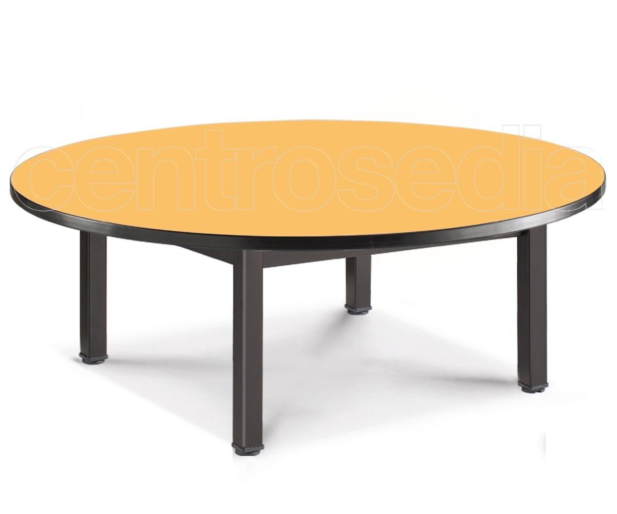 convivio tavolo rotondo tavoli asili scuole materne