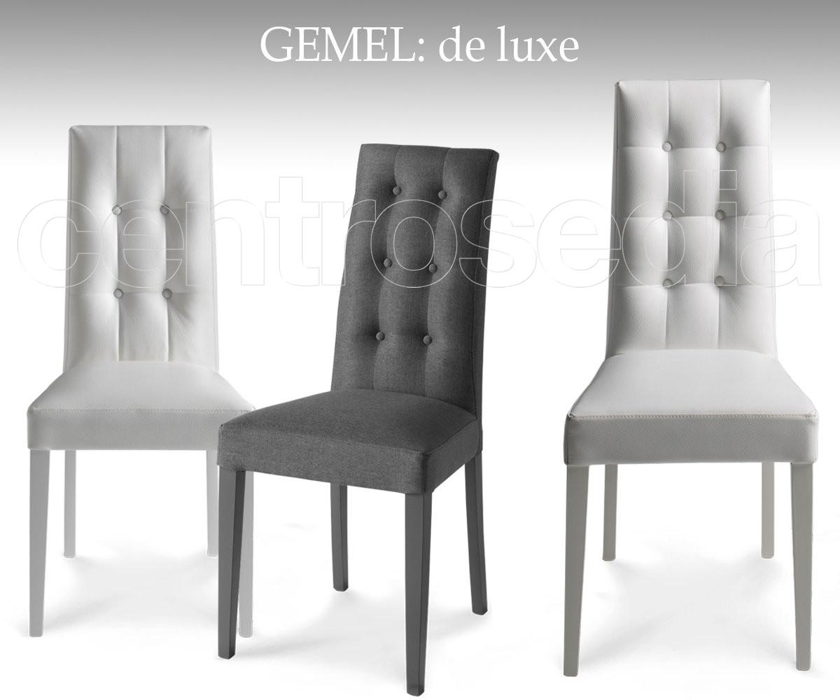 Sedie Imbottite Capitonnè : Gemel sedia legno imbottito sedie legno moderno