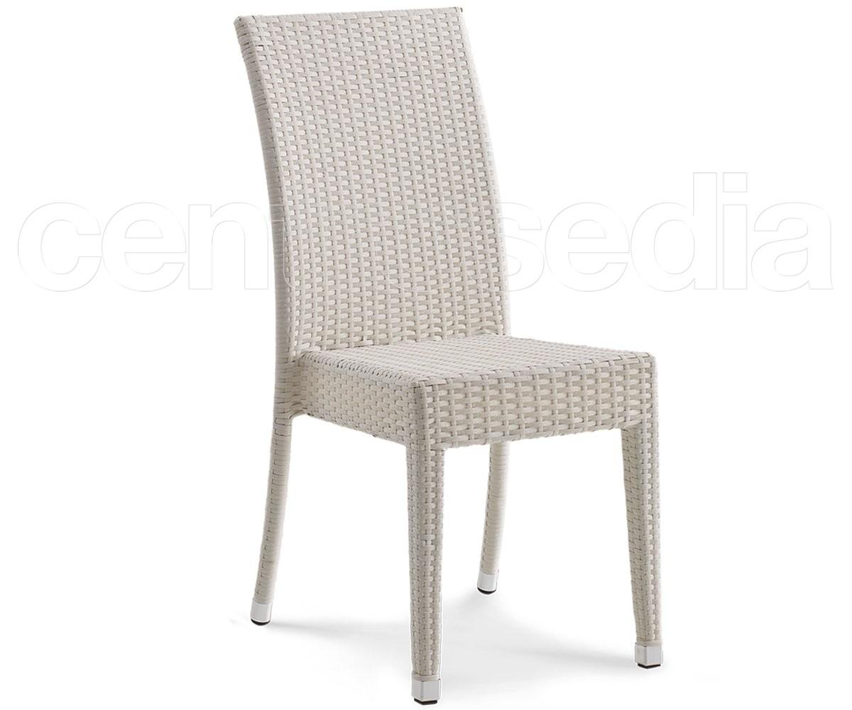 Miss sedia eco rattan sedie alluminio rattan textilene - Sedia in rattan ...