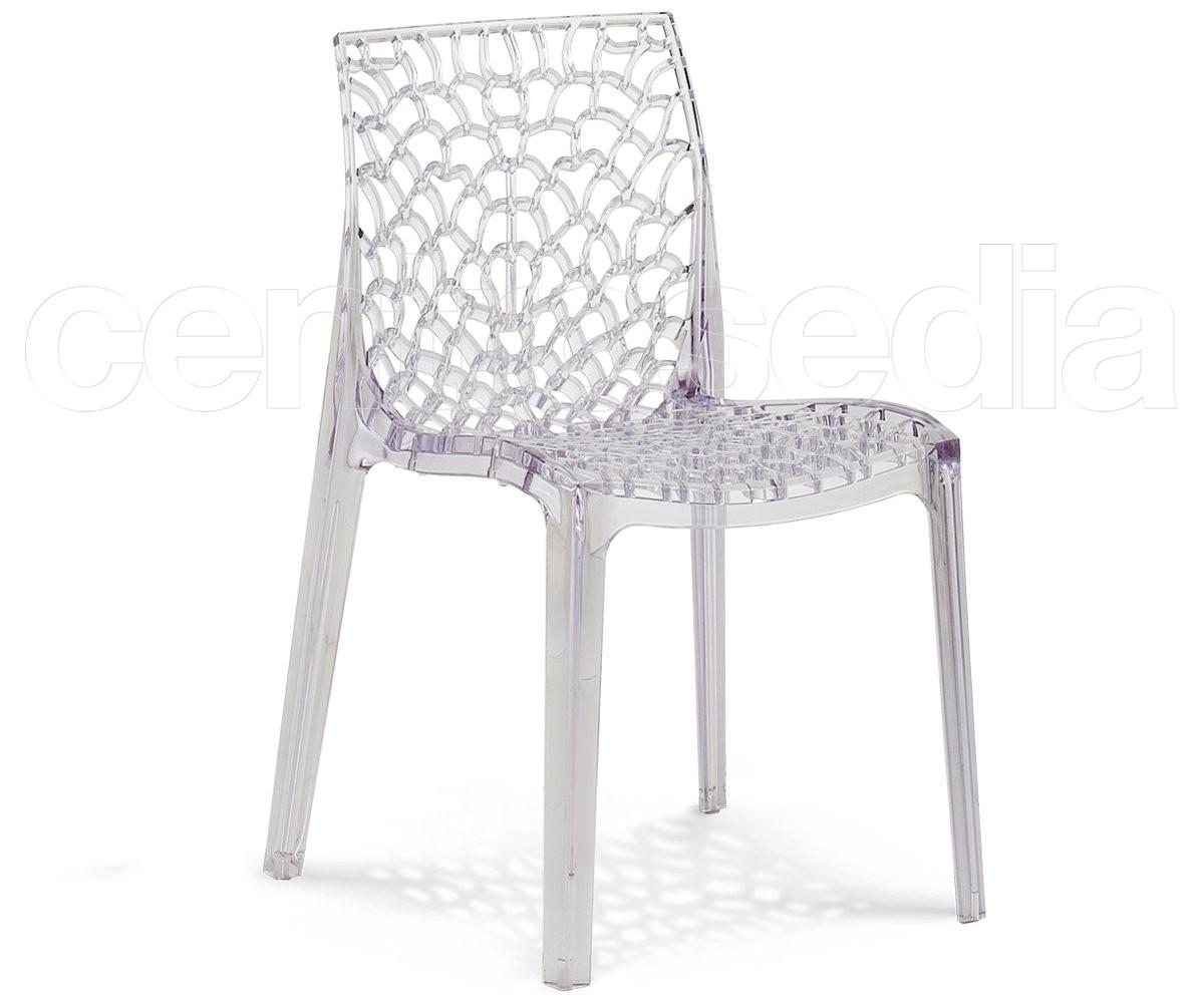 Grano sedia policarbonato sedie policarbonato trasparenti