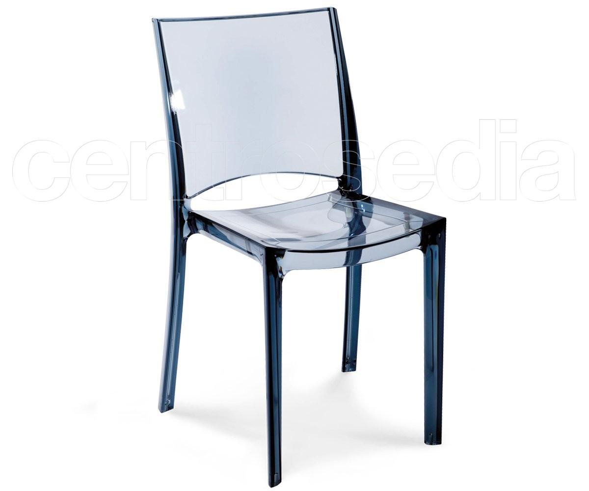 Iris sedia policarbonato sedie policarbonato trasparenti
