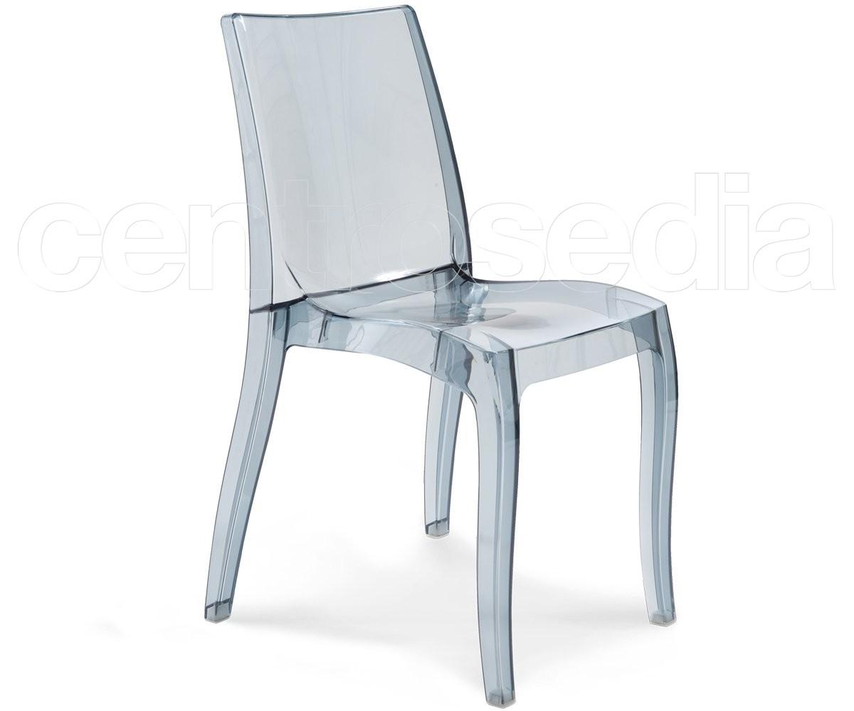 Light sedia policarbonato sedie policarbonato trasparenti for Sedie policarbonato