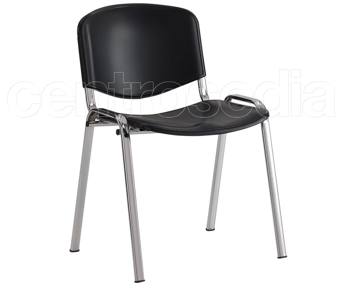 Sedie In Metallo E Plastica : Iso sedia attesa metallo plastica sedie attesa