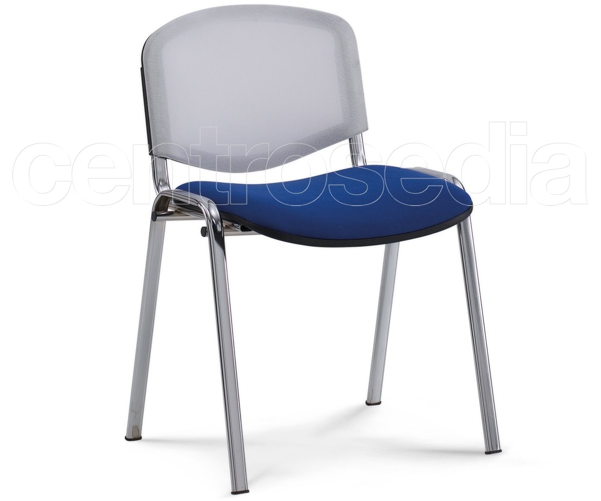Iso sedia attesa metallo rete sedie attesa
