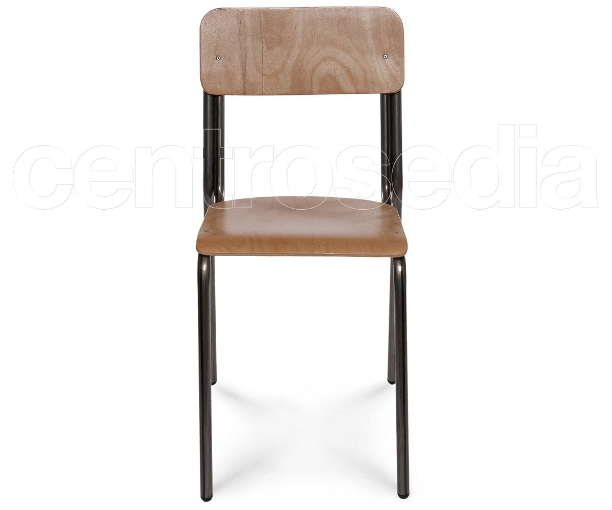 Studio sedia legno sedie metallo legno