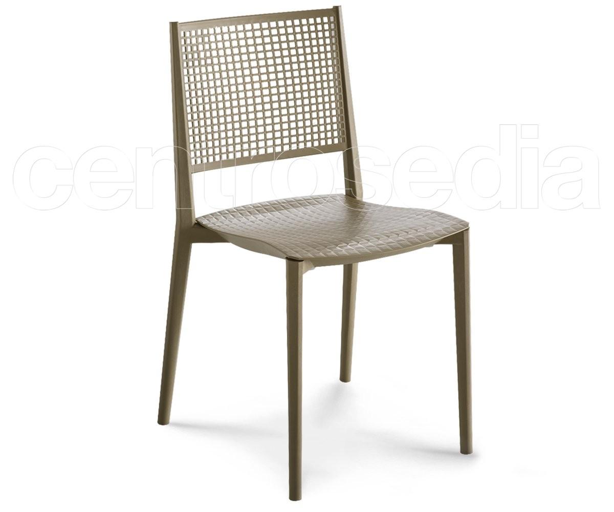 Kalipa sedia tecnopolimero sedie plastica polipropilene for Sedie design plastica